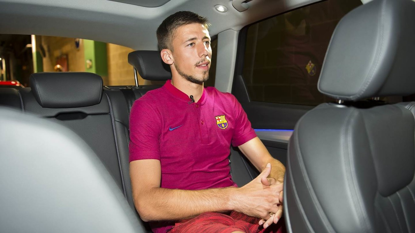 Interview i bilen med Clement Lenglet